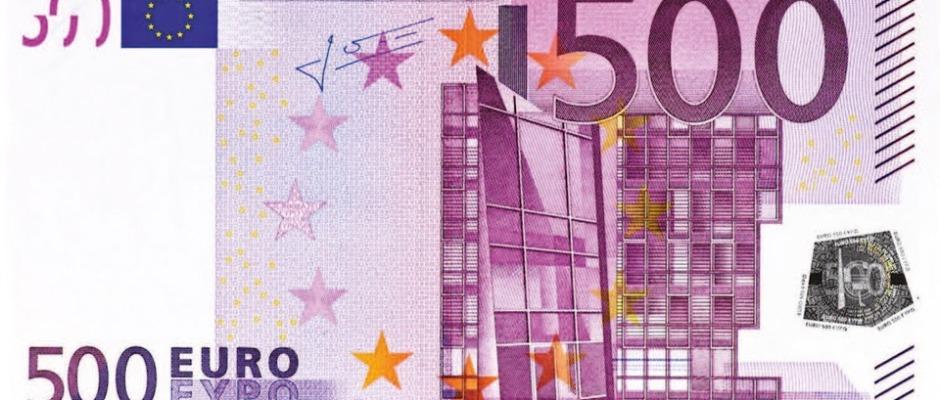 La UE podría eliminar los billetes de 500 euros